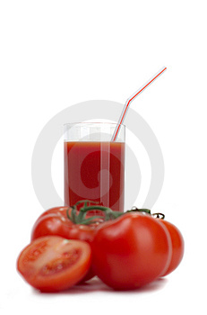 Tomatoes And Tomato Juice Stock Photography - Image: 8511212