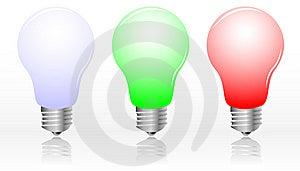 Realistic Light Bulbs Stock Photography - Image: 8511652