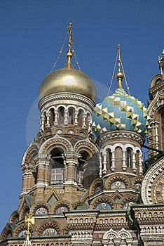 Spasa Na Krovi Cathedral Stock Image - Image: 8511981