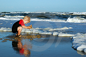 Beach Play Stock Photography - Image: 8511992
