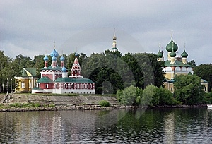 Russian Churches Royalty Free Stock Images - Image: 8512179