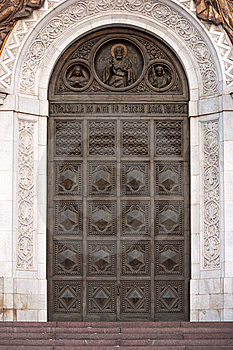 Door To Cathedral Royalty Free Stock Images - Image: 8512309