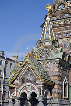 Spasa Na Krovi Cathedral Royalty Free Stock Photography - Image: 8512457