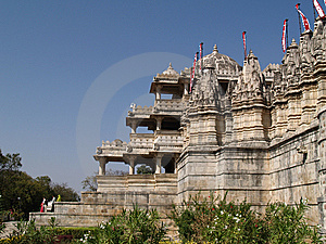 Jain Temple In Ranakpur Royalty Free Stock Photos - Image: 8512638