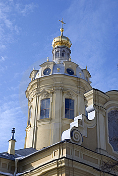 Peter And Pavel Fortress - Cathedral Stock Images - Image: 8512694