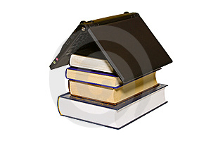 House From Books Royalty Free Stock Photo - Image: 8512865