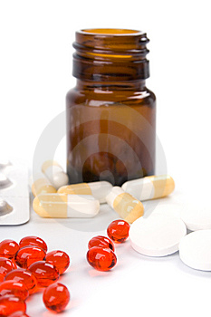Different Pills Stock Photo - Image: 8513000