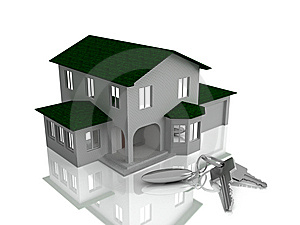 The House And Keys Stock Photo - Image: 8513240