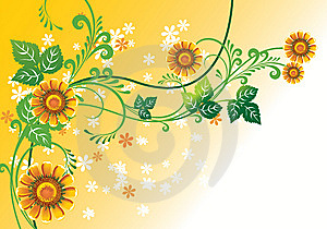 Floral Background Royalty Free Stock Images - Image: 8513569