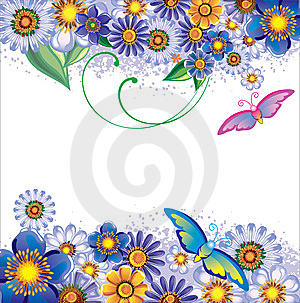 Floral Background Royalty Free Stock Photo - Image: 8513585
