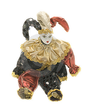 Harlequin Doll Stock Image - Image: 8513771