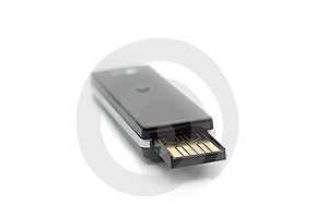 Beautiful Black Usb Flash Drive Macro Stock Image - Image: 8513921