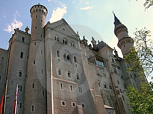 Neuschwanstein Castle Royalty Free Stock Photography - Image: 8514317