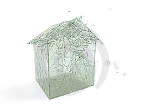 Broken House. Royalty Free Stock Images - Image: 8514359