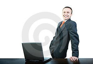 Young Menager Royalty Free Stock Image - Image: 8514706