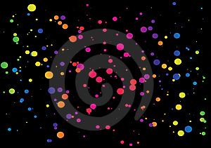 Dotted Space Royalty Free Stock Photography - Image: 8514897