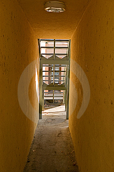 Passage To Stairs Stock Images - Image: 8515074