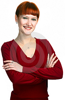 Young Beauty Redhaired Girl Stock Images - Image: 8515544