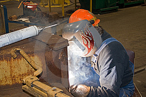 Welder Stock Image - Image: 8516361