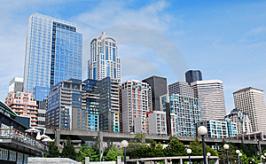 Seattle Downtown Stock Photos - Image: 8516563