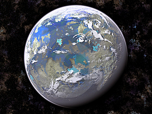 Planet In Outer Space Royalty Free Stock Photos - Image: 8517168