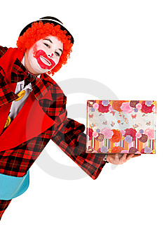 Happy Clown Stock Photo - Image: 8517280