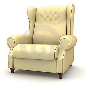 Classic Armchair Stock Photos - Image: 8517953