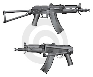 Gun Illustration Stock Images - Image: 8518034