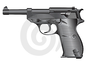 απεικόνιση πυροβόλων όπλ&omega Στοκ Εικόνες - εικόνα: 8518044