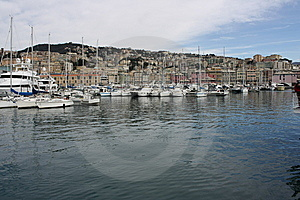 Genova Harbour Royalty Free Stock Image - Image: 8518636