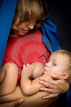 Mom And Baby Royalty Free Stock Photos - Image: 8519078