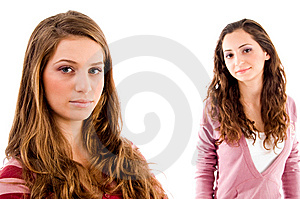 Portrait Of Young Sisters Royalty Free Stock Photography - Image: 8519937