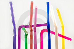 Cocktail Straws Royalty Free Stock Images - Image: 8520739