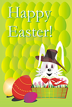 Happy Easter Card Stock Photos - Image: 8520843
