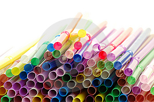 Cocktail Straws Royalty Free Stock Photo - Image: 8520945
