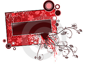 Banner For Text Royalty Free Stock Images - Image: 8520959