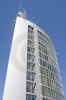 Business Center Of Modern Architecture Building Stock Image - Image: 8521491