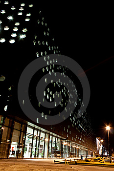 Politechnics Building, Wroclaw Royalty Free Stock Photo - Image: 8521515