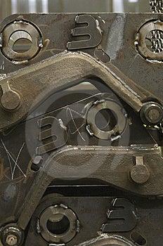 Brand New Dozer Parts Stock Photography - Image: 8521972