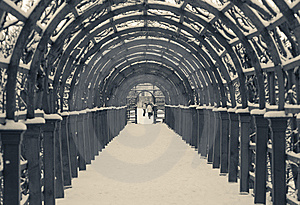 Tunnel In To Snow Stock Images - Image: 8522054