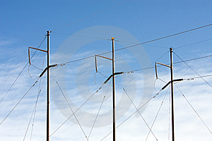 Electrical Power Lines Royalty Free Stock Photo - Image: 8522465