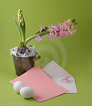 Easter Congratulation Royalty Free Stock Image - Image: 8522476