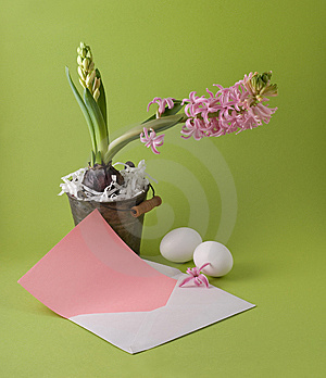 Easter Congratulation Stock Photo - Image: 8522550