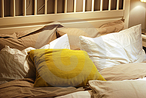 Bed In A Mess Stock Photo - Image: 8522670