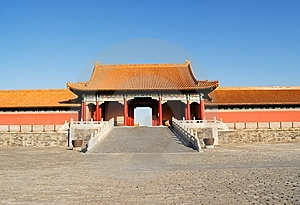 The Forbidden City Royalty Free Stock Photo - Image: 8522915