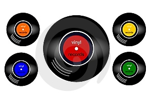 Vinyl Records Stock Images - Image: 8522994