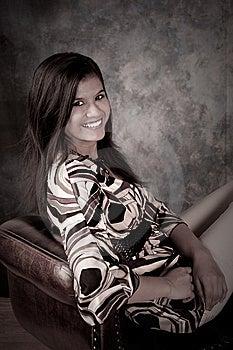 Beautiful Interracial Woman Royalty Free Stock Photo - Image: 8523065