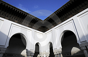 Arch Architecture In Mosque Temple Stock Image - Image: 8523401
