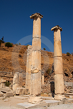 Columns And Capitals Royalty Free Stock Images - Image: 8523459