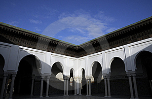 Arch Architecture In Mosque Temple Stock Photos - Image: 8523503